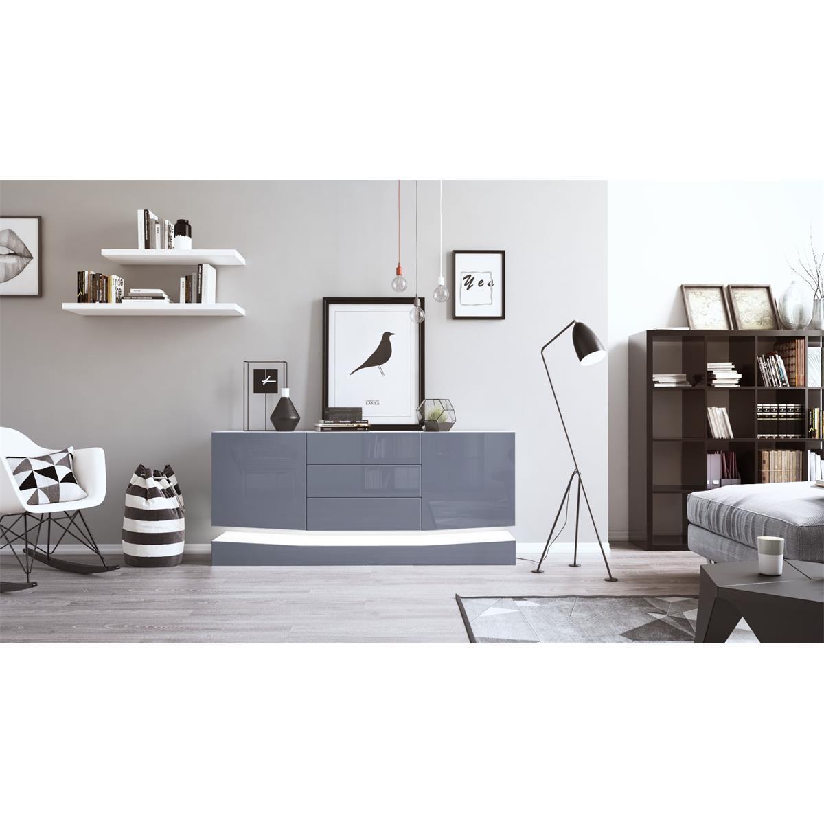 Sideboard Weiß Wohnzimmer