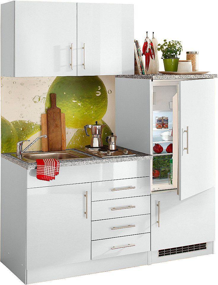 Singleküche 160 Cm Mit Kühlschrank