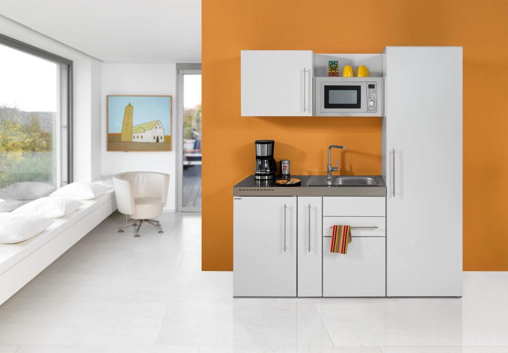 Singleküche Mit Spülmaschine Und Kühlschrank