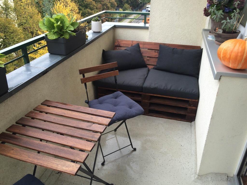 Sitzbank Balkon Diy