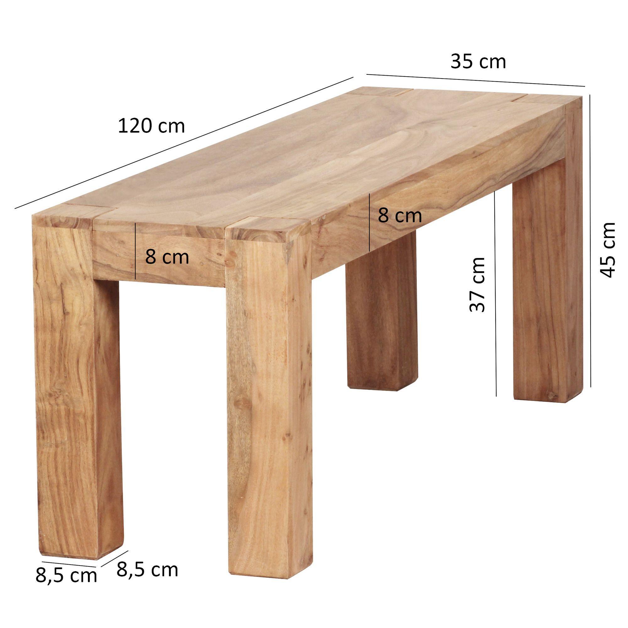 Sitzbank Holz Mit Lehne Esszimmer