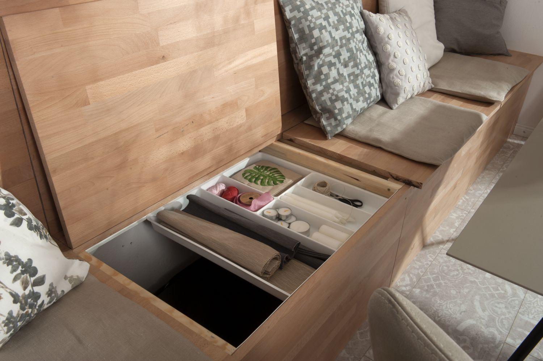 Sitzbank Küche Mit Lehne Und Stauraum