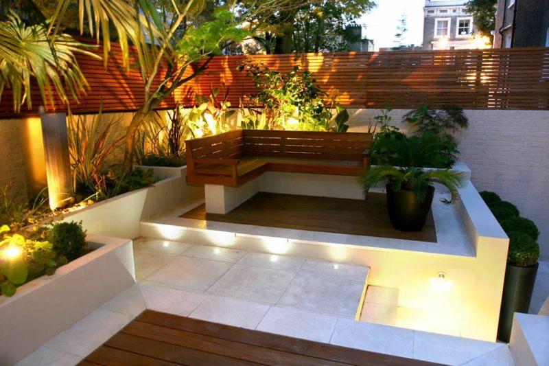 Sitzecke Garten Selber Bauen
