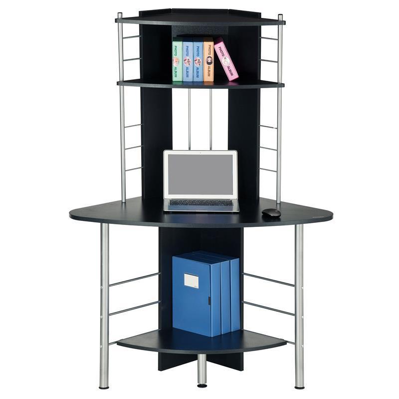 Sixbros Schwarzer Schreibtisch