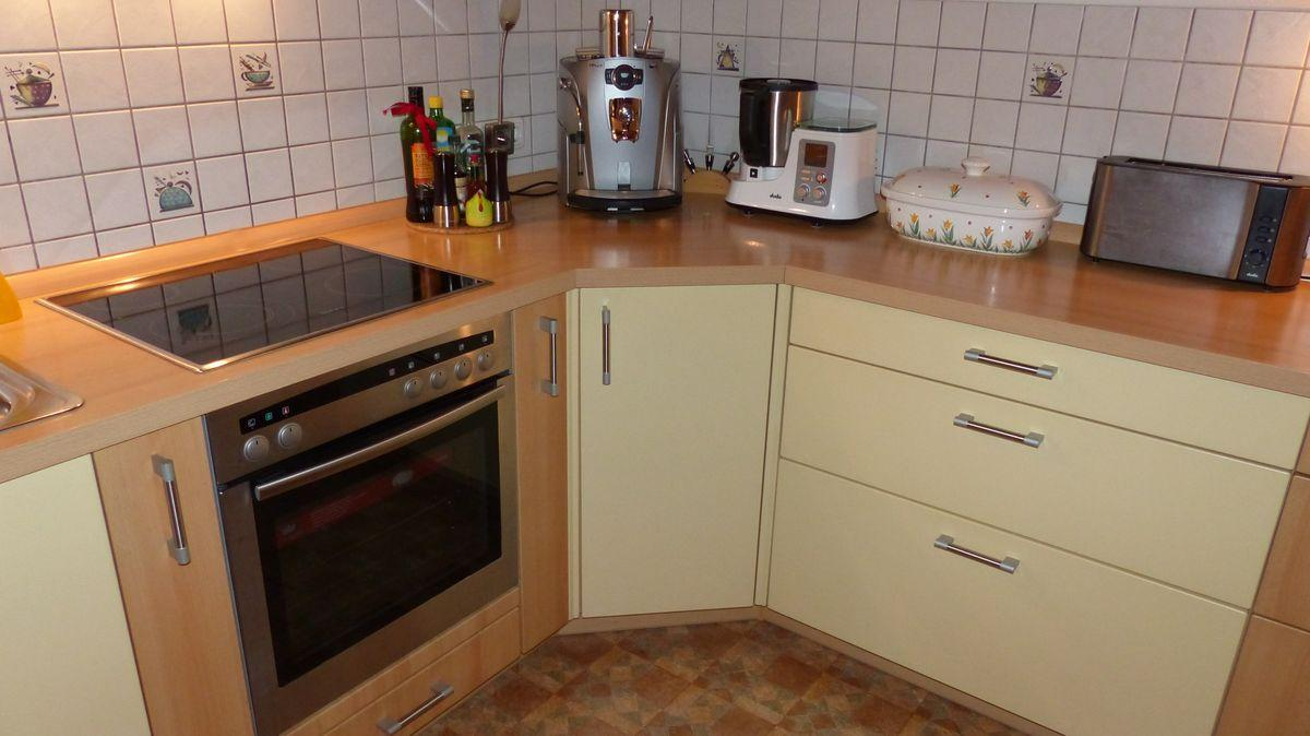 Sockelblende Küche Buche