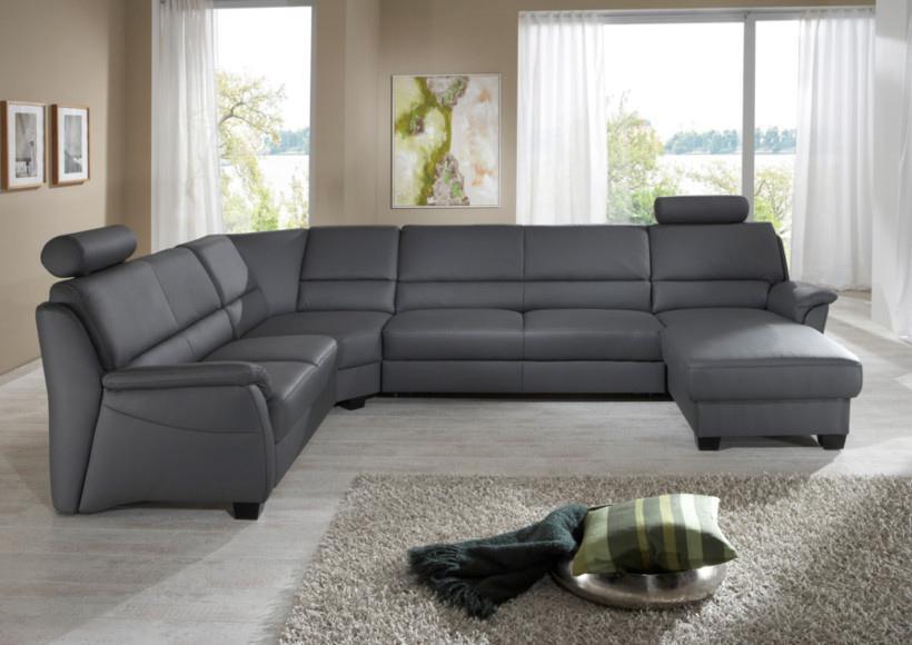 Sofa Anthrazit U Form