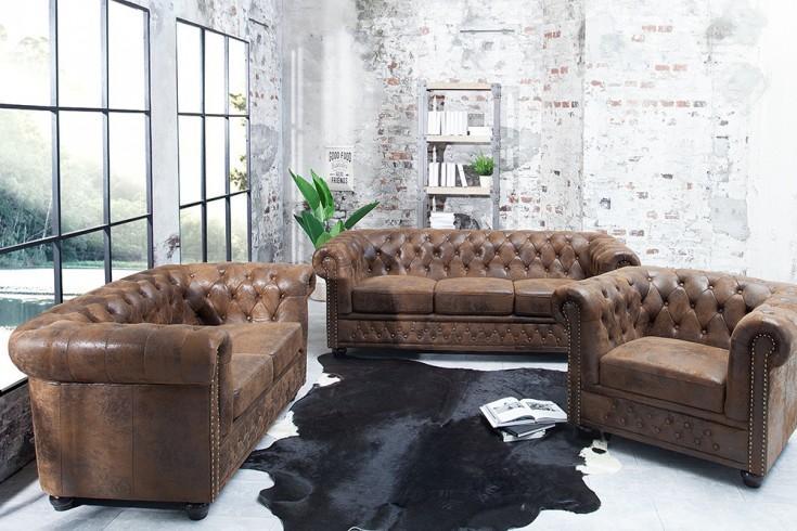 Sofa Antik Braun