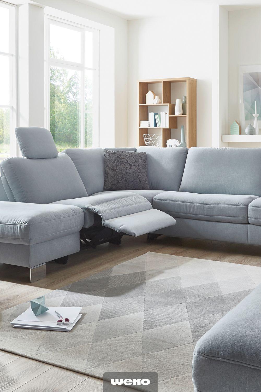 Sofa Blau Skandinavisch