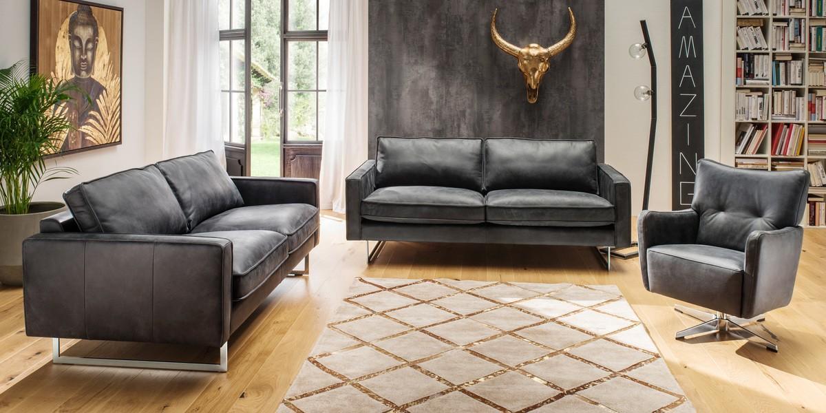 Sofa Garnitur 3 Teilig Modern