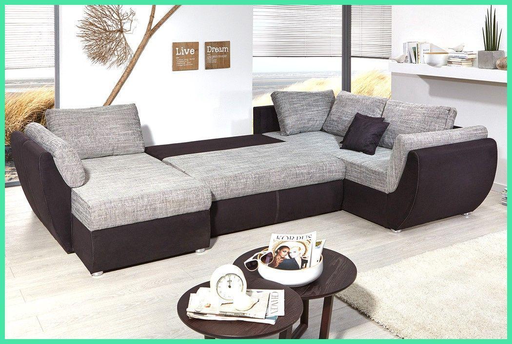 Sofa Grau Schwarz
