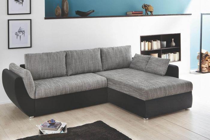 Sofa Kunstleder Grau