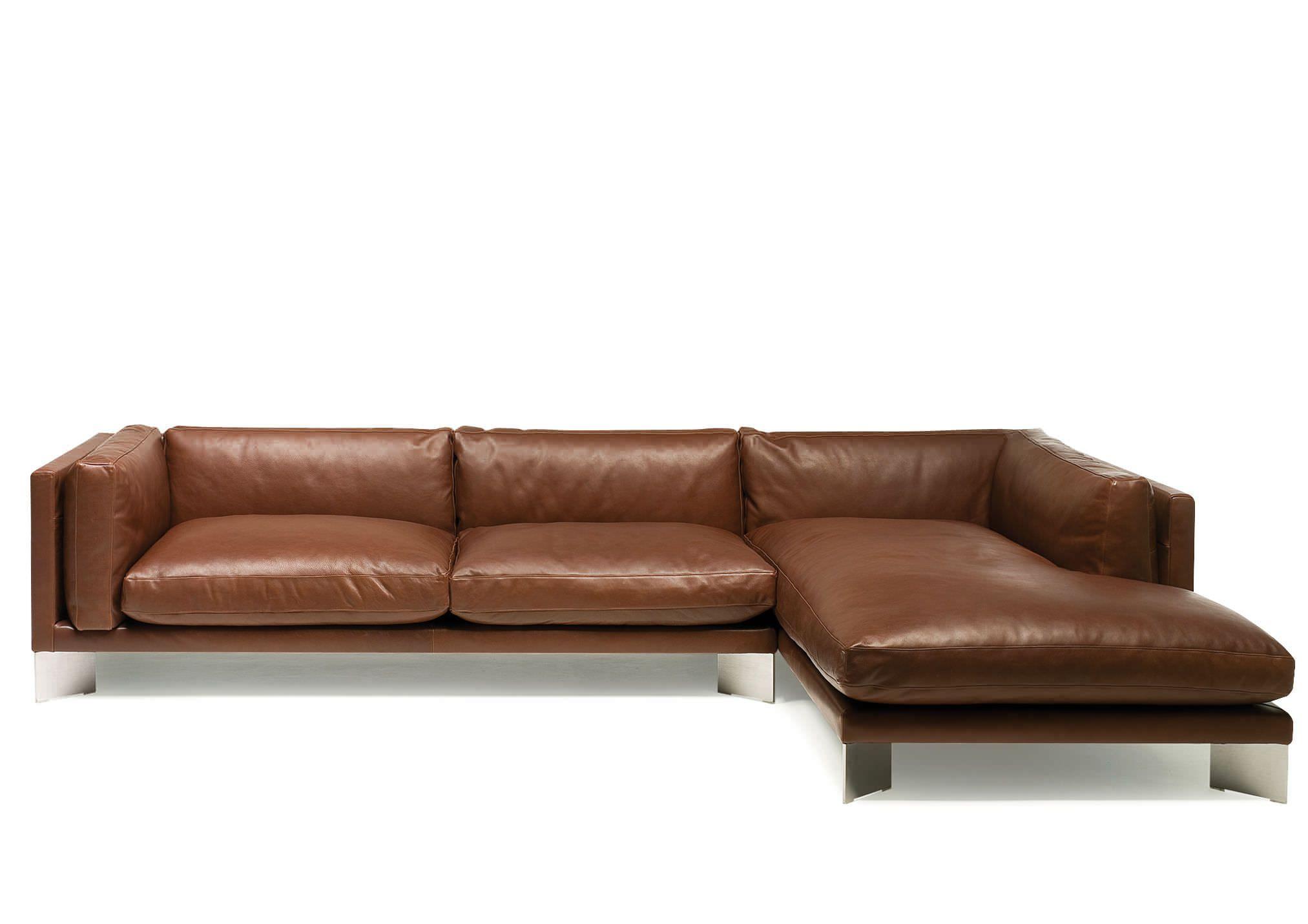Sofa Rund Leder