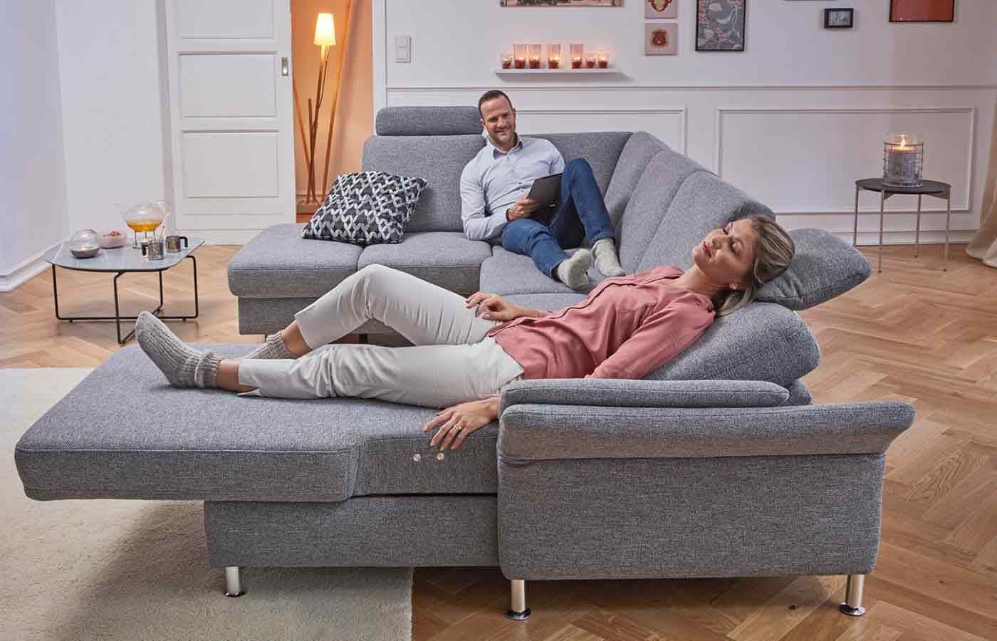 Sofa U Form Landhausstil
