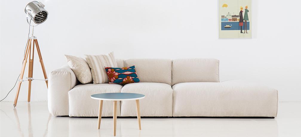 Sofa Zweisitzer Ecke