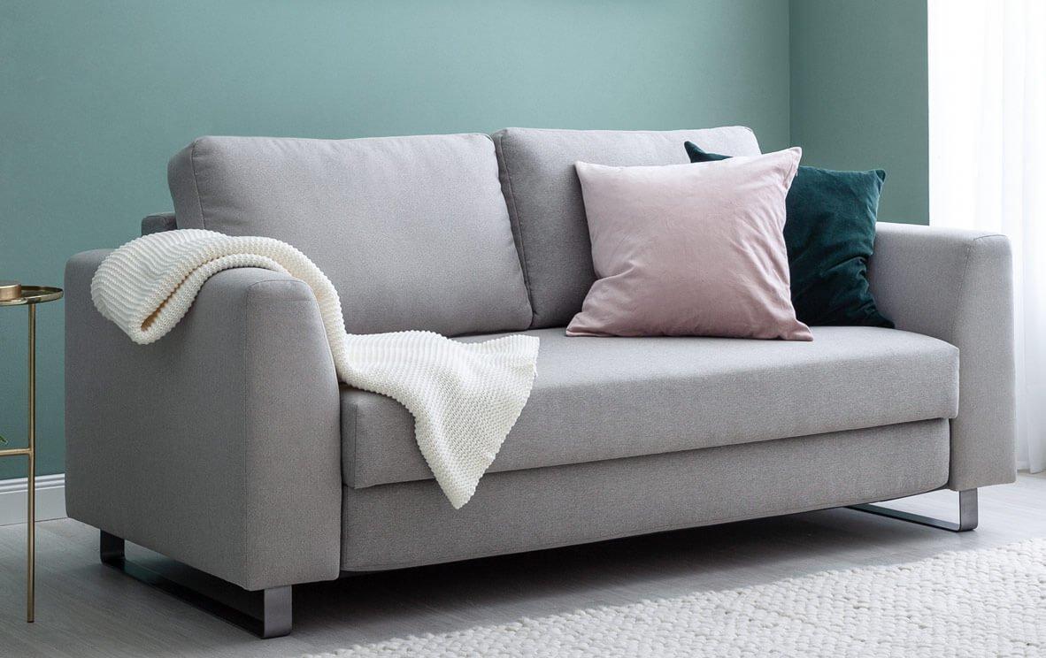 Sofa Zweisitzer Rosa
