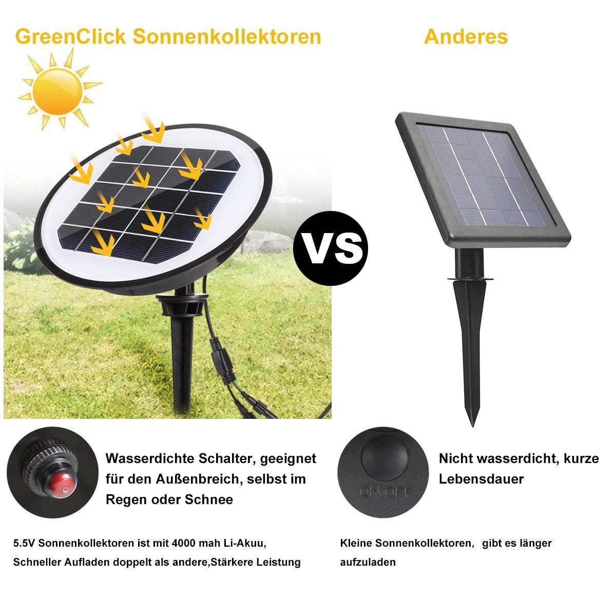 Solar Gartenleuchte Solarleuchten