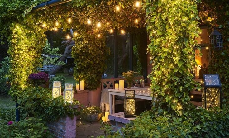 Solar Gartenstecker Obi