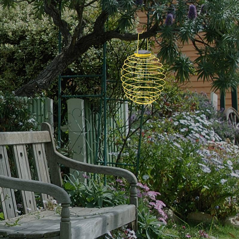 Solar Hängeleuchte Garten