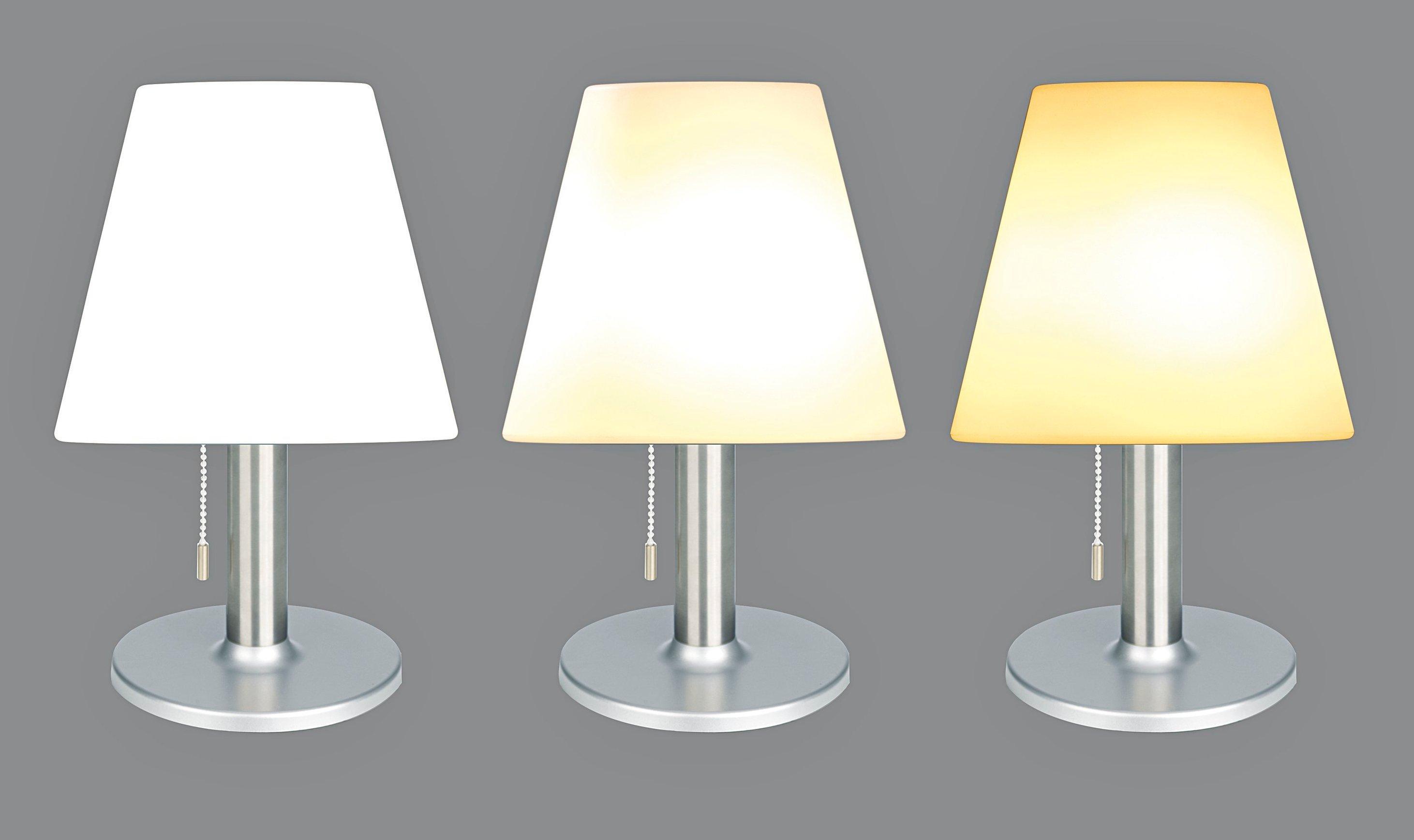 Solar Tischlampe Außen