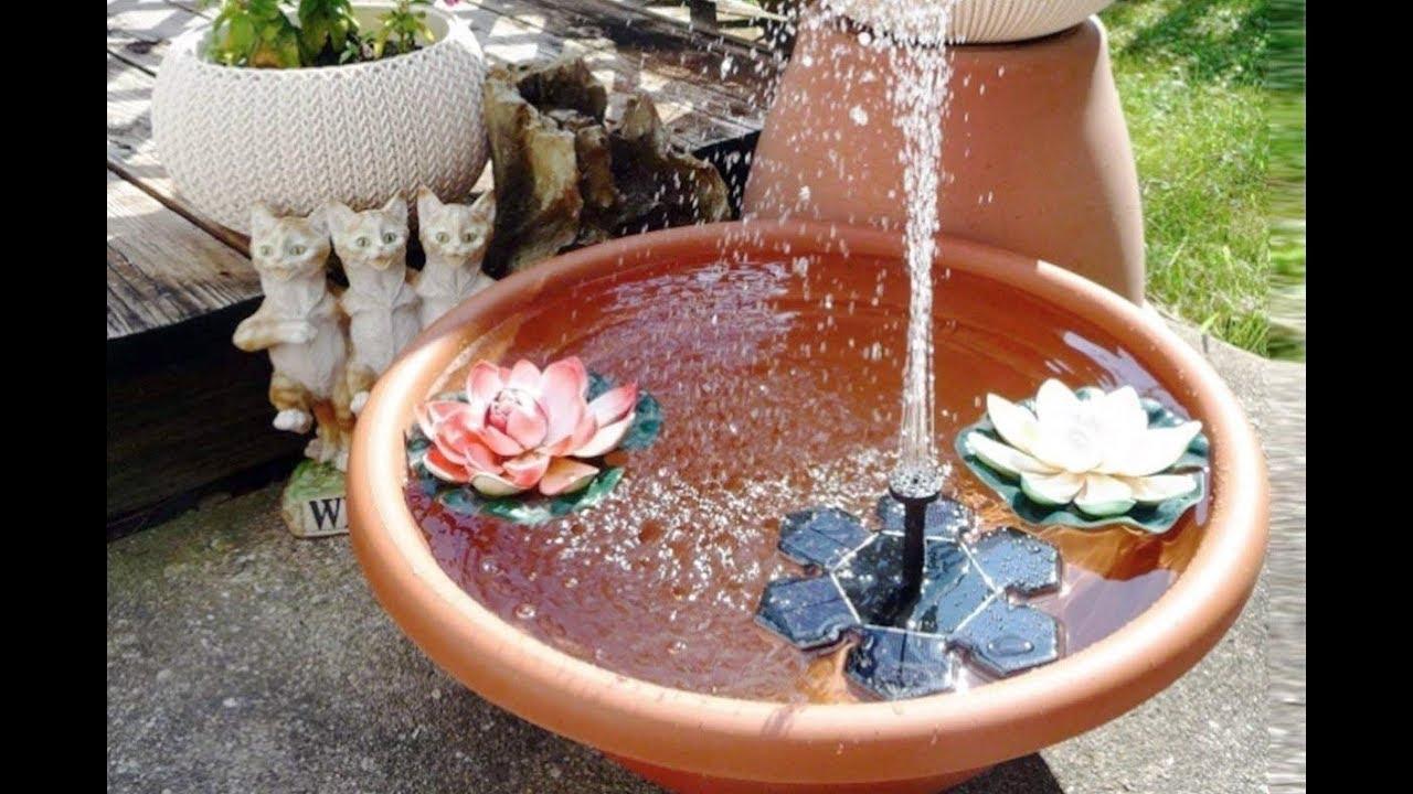 Solarbrunnen Garten Selber Bauen