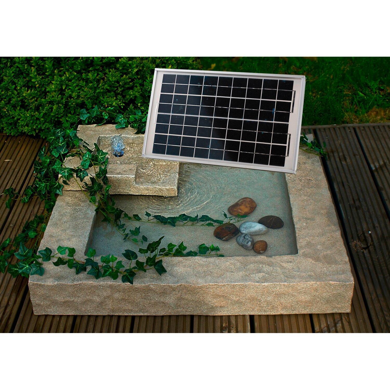 Solarbrunnen Gartenbrunnen Solar