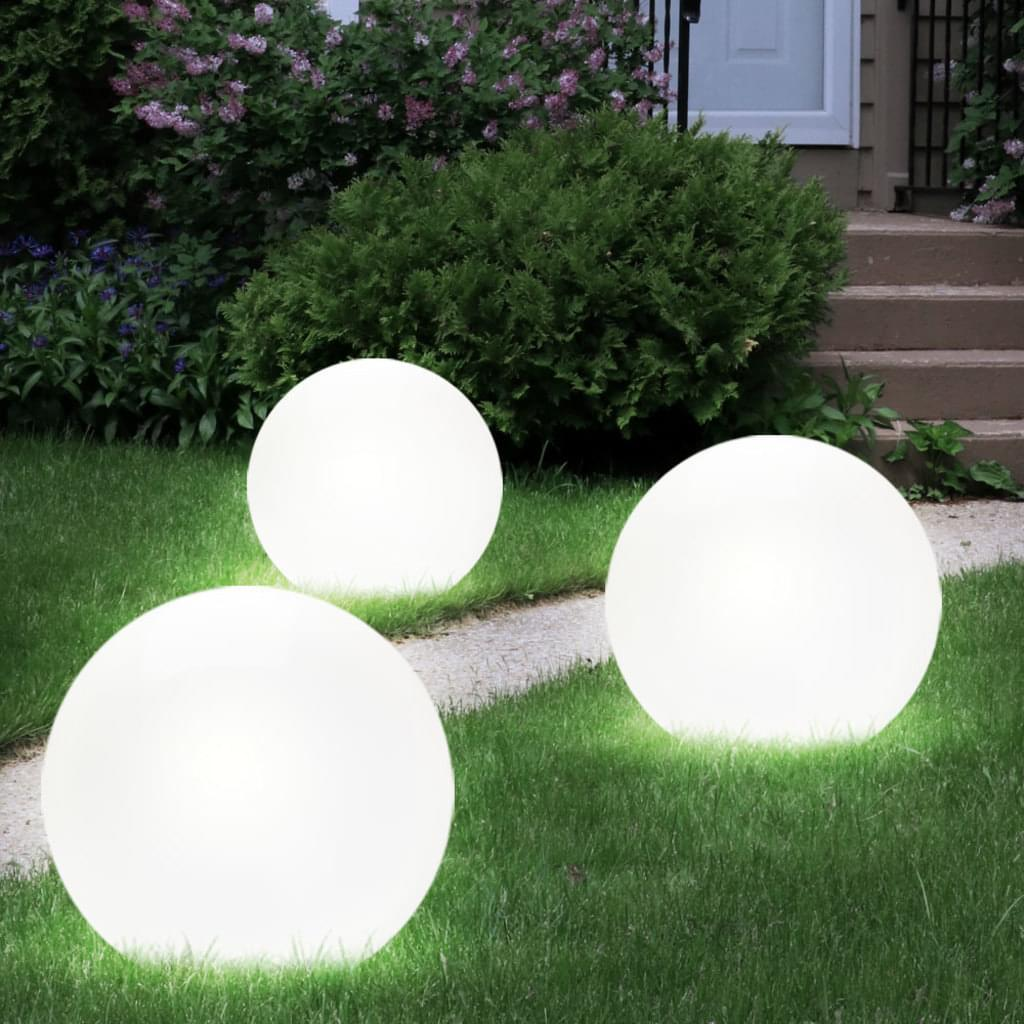 Solarlampen Garten Kugel