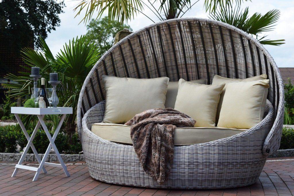 Sonneninsel Rattan Lounge