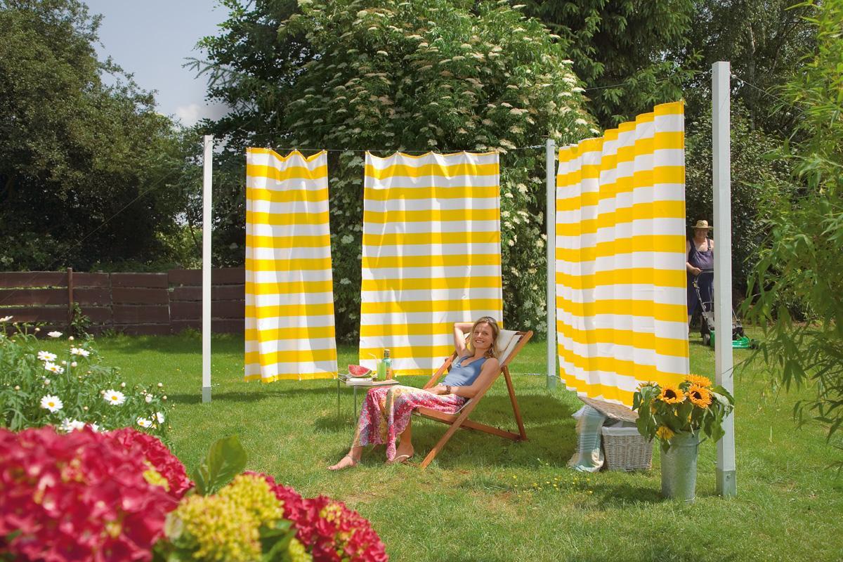 Sonnenschutz Garten Diy