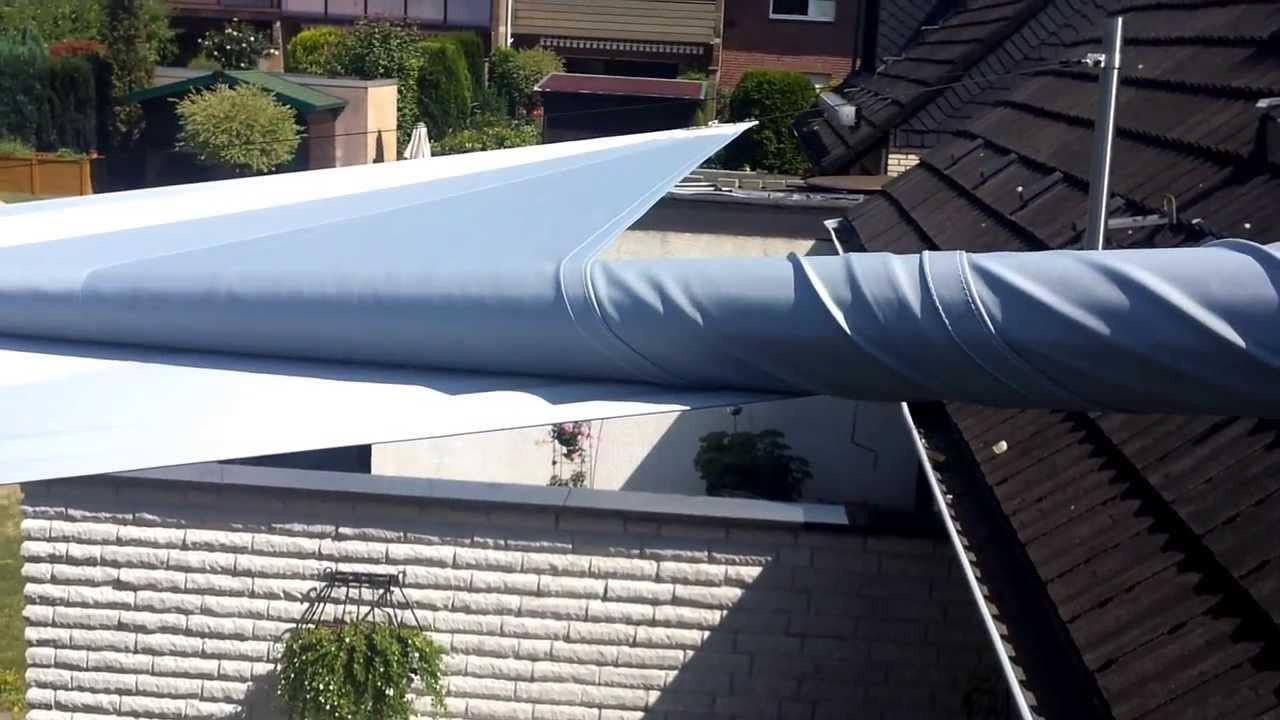 Sonnensegel Terrasse Elektrisch