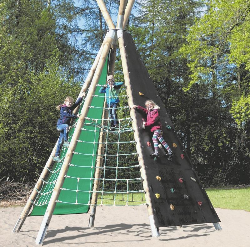 Spielgeräte Garten Klettern
