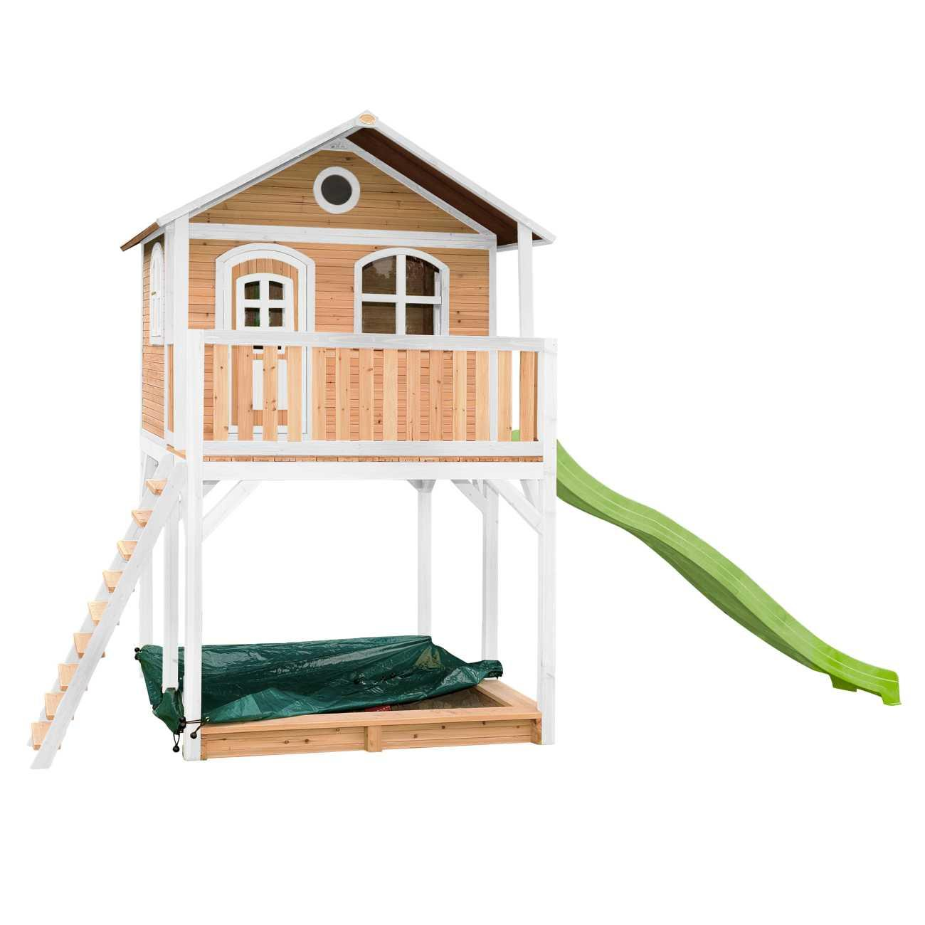 Spielhaus Garten Holz Mit Schaukel