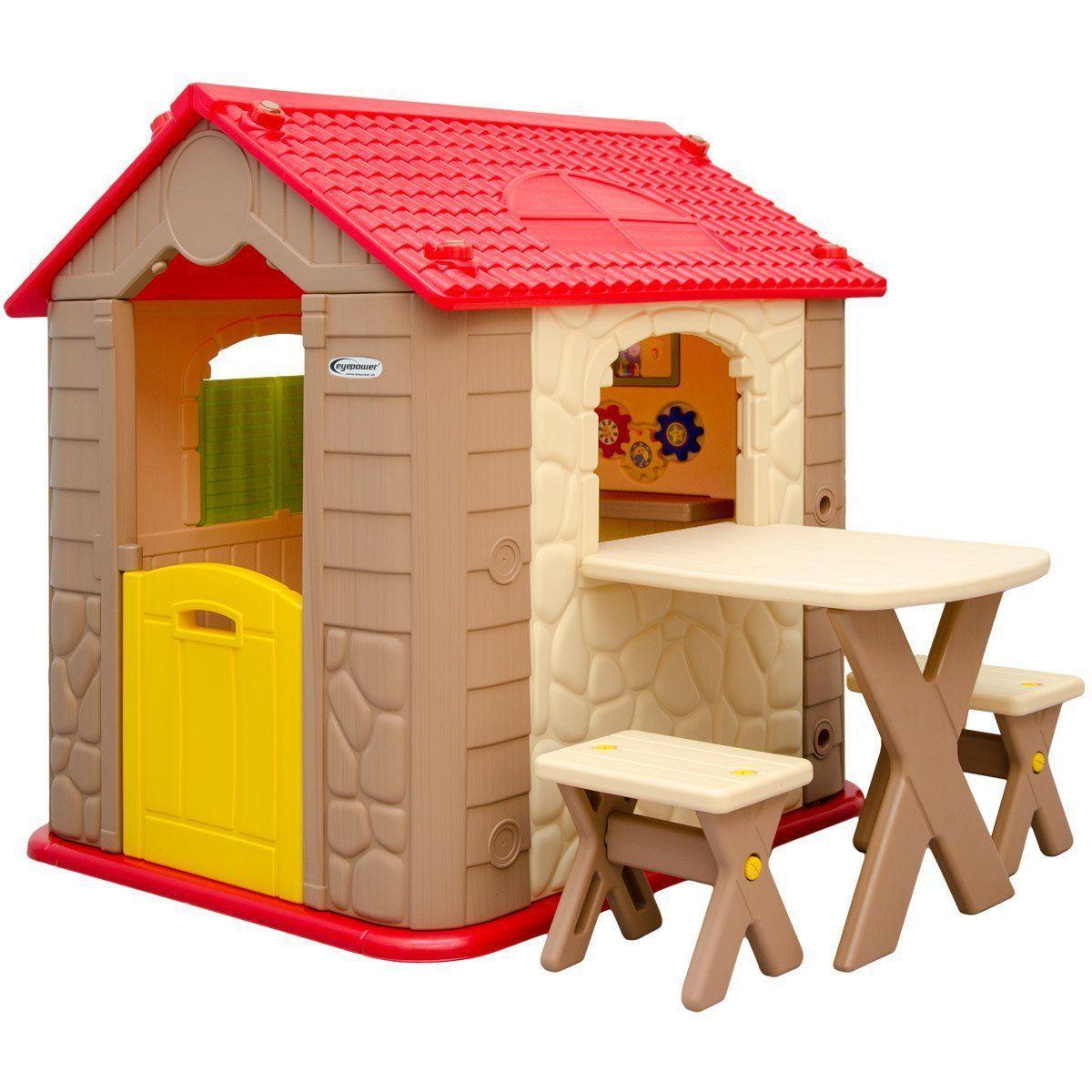 Spielhaus Garten Kunststoff