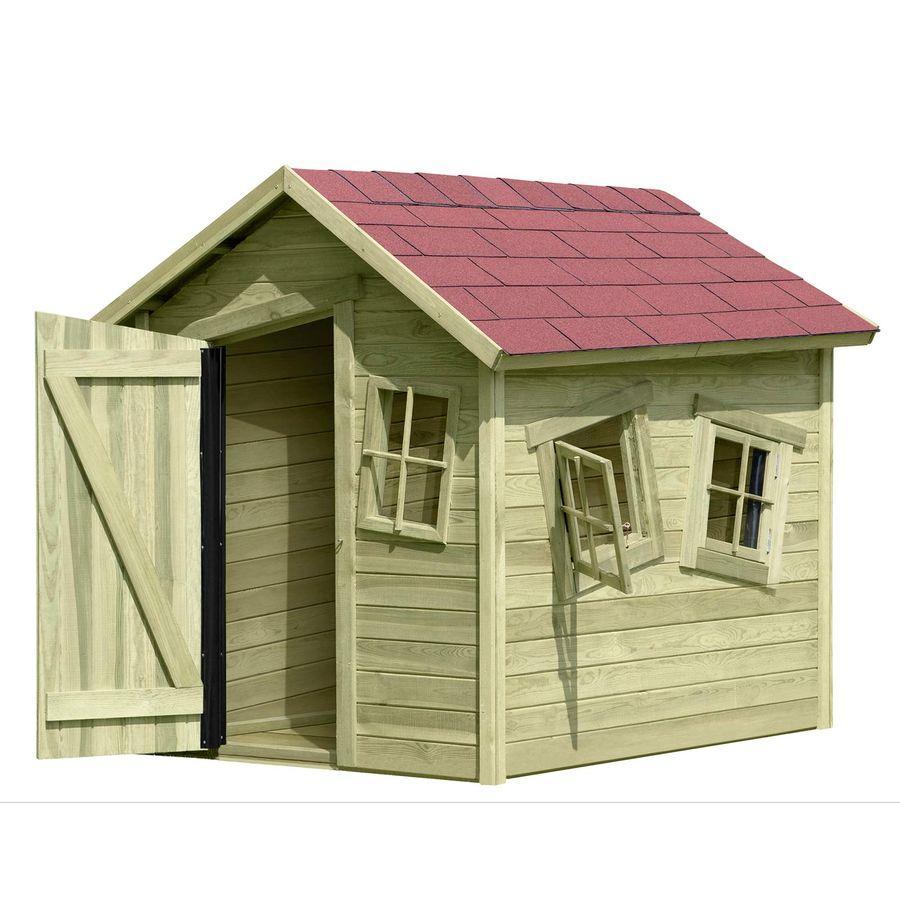 Spielhaus Holz Garten