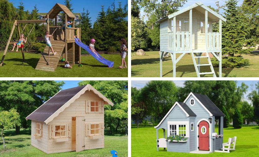 Spielhaus Kinder Garten Plastik