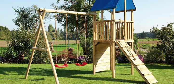 Spielturm Garten Klein