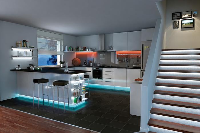 Spots Deckenbeleuchtung Küche