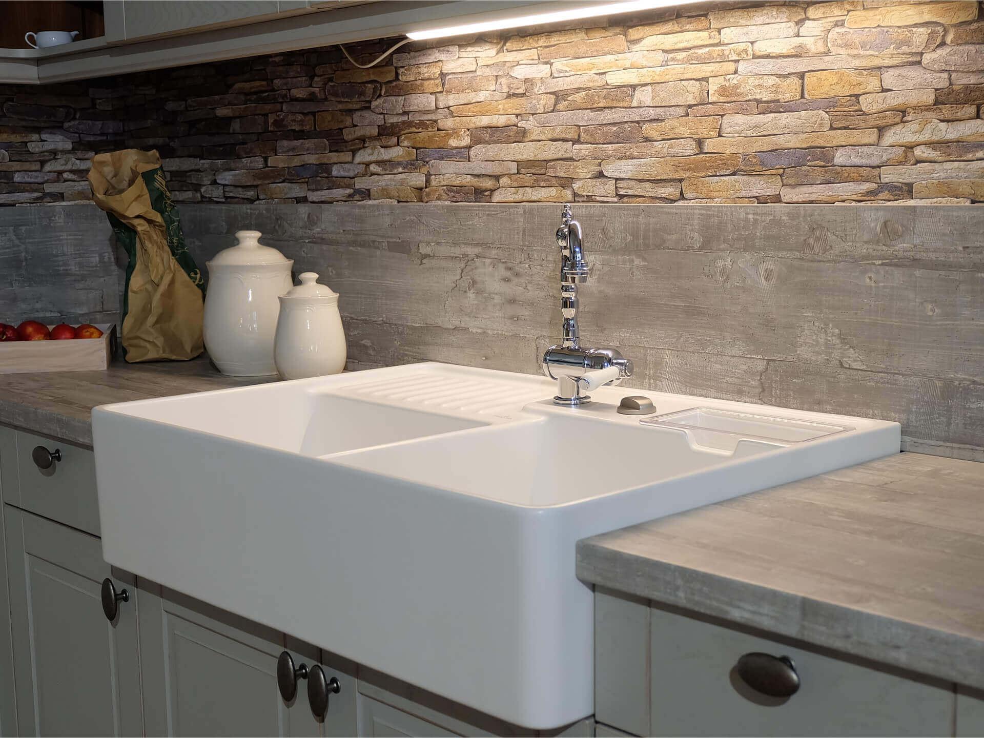 Spüle Küche Keramik