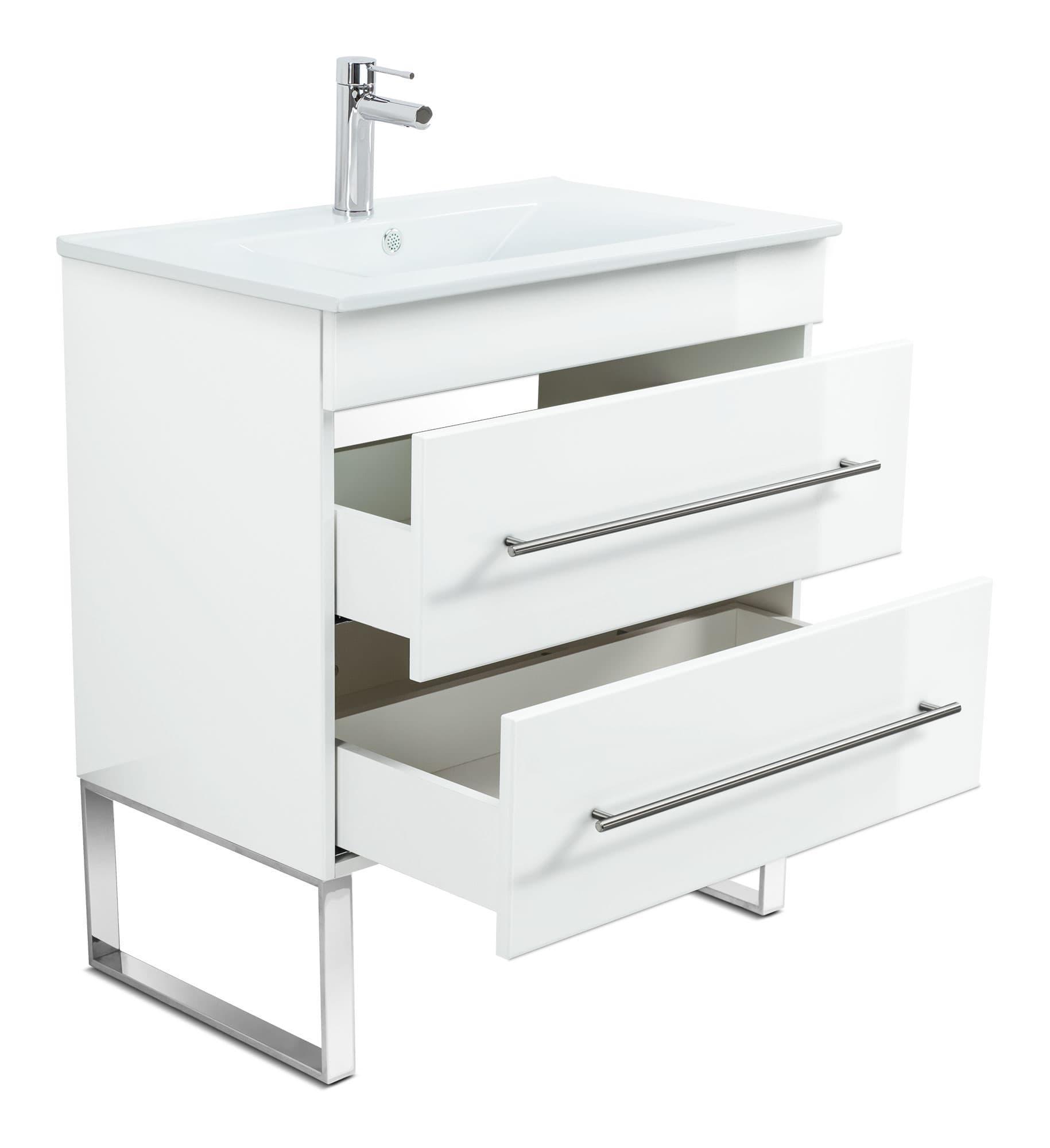 Stand Badmöbel Mit Waschbecken