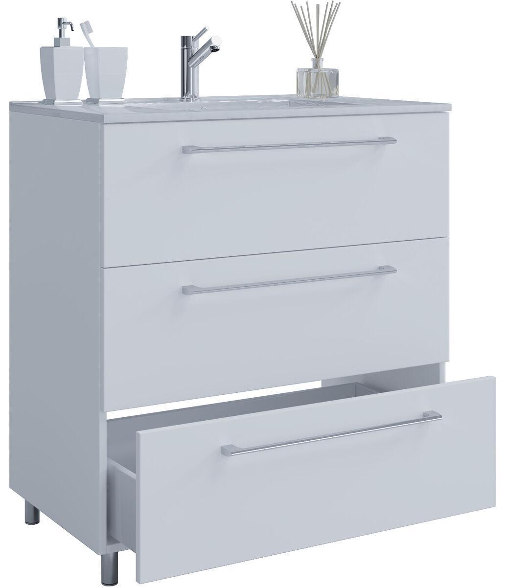 Stand Waschtisch Mit Waschbecken
