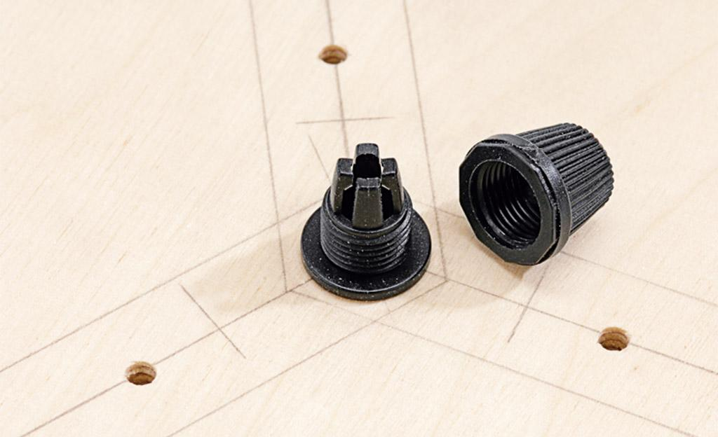Stehlampe Aus Holzbalken Selber Bauen