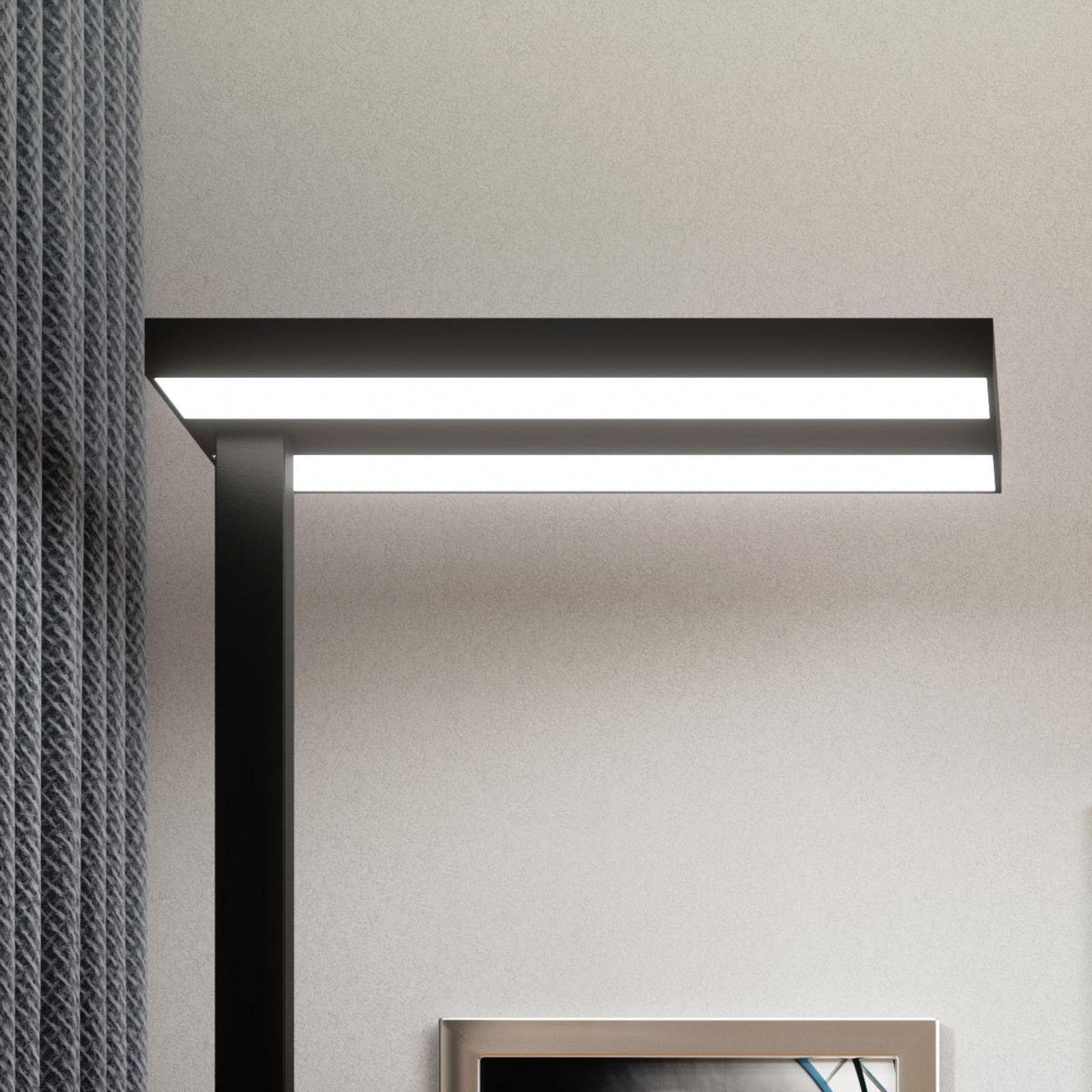Stehlampe Dimmbar Schwarz