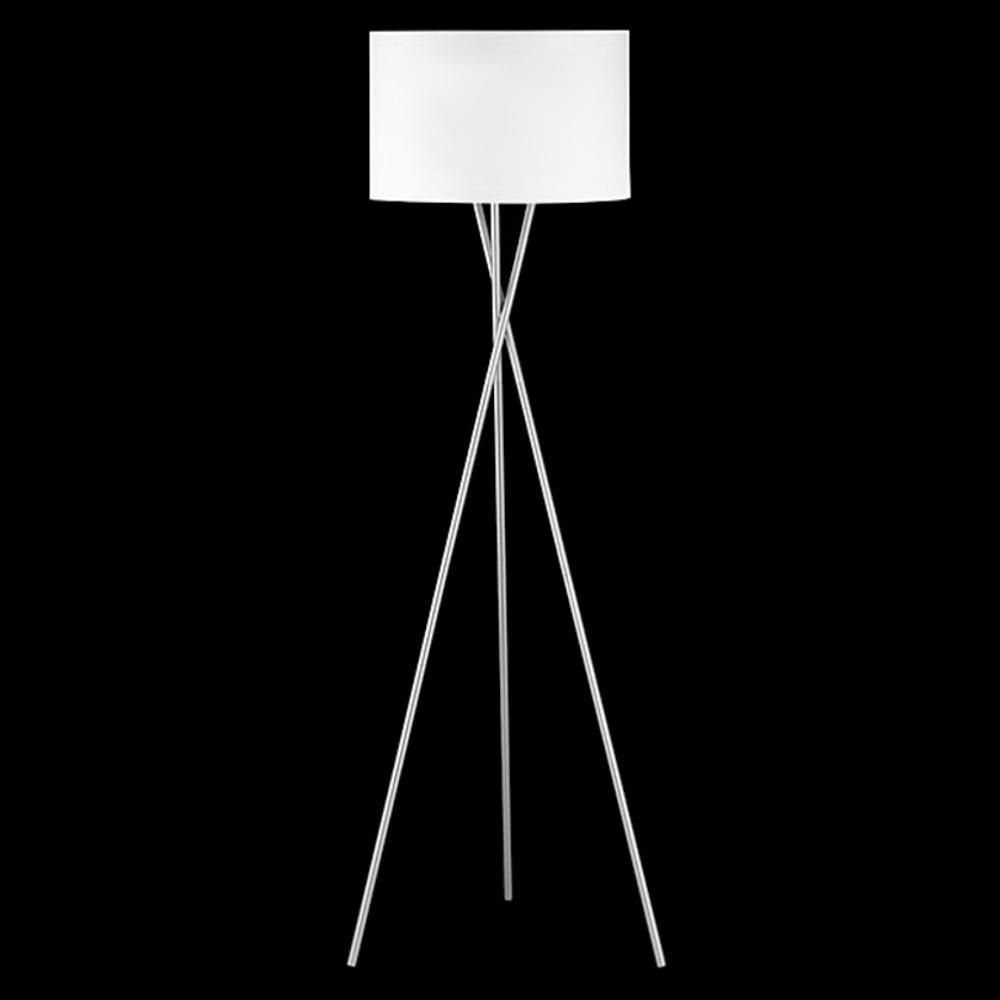 Stehlampe Dreibein Grau