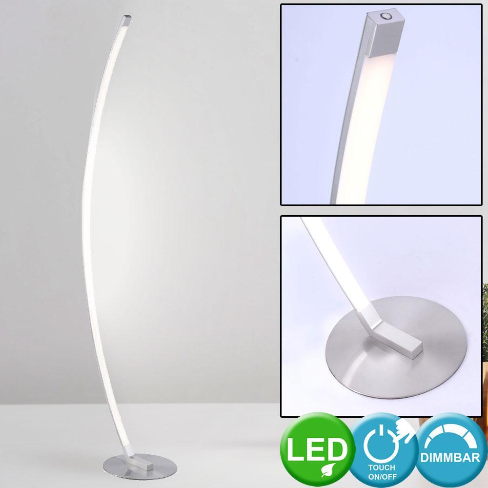 Stehlampe Gebogen Wohnzimmer