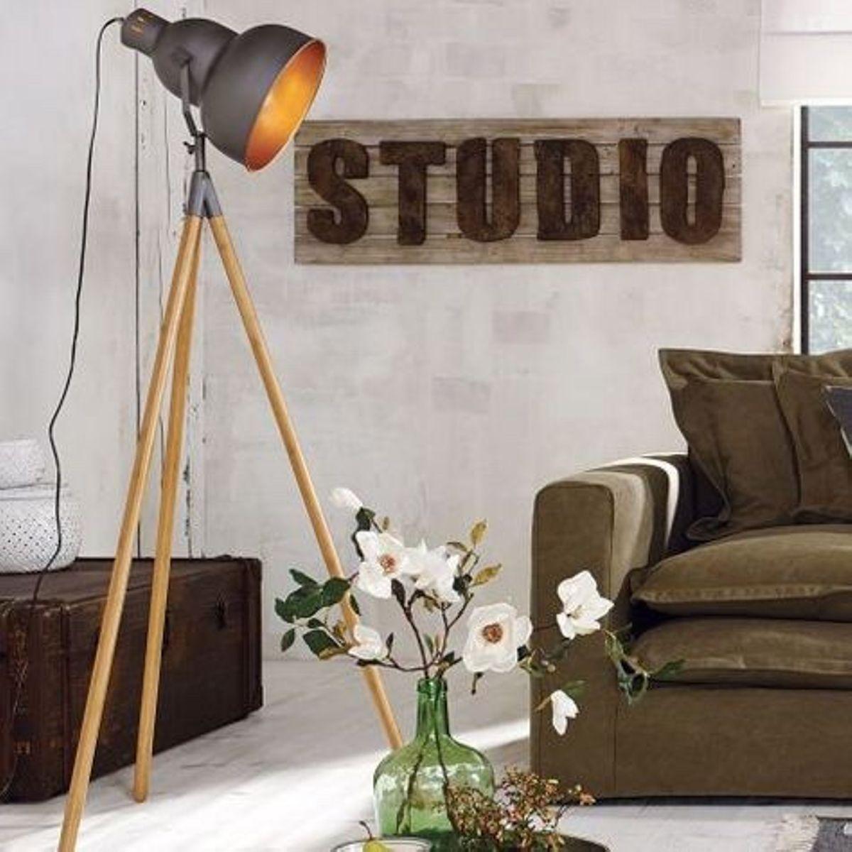Stehlampe Industrie Look