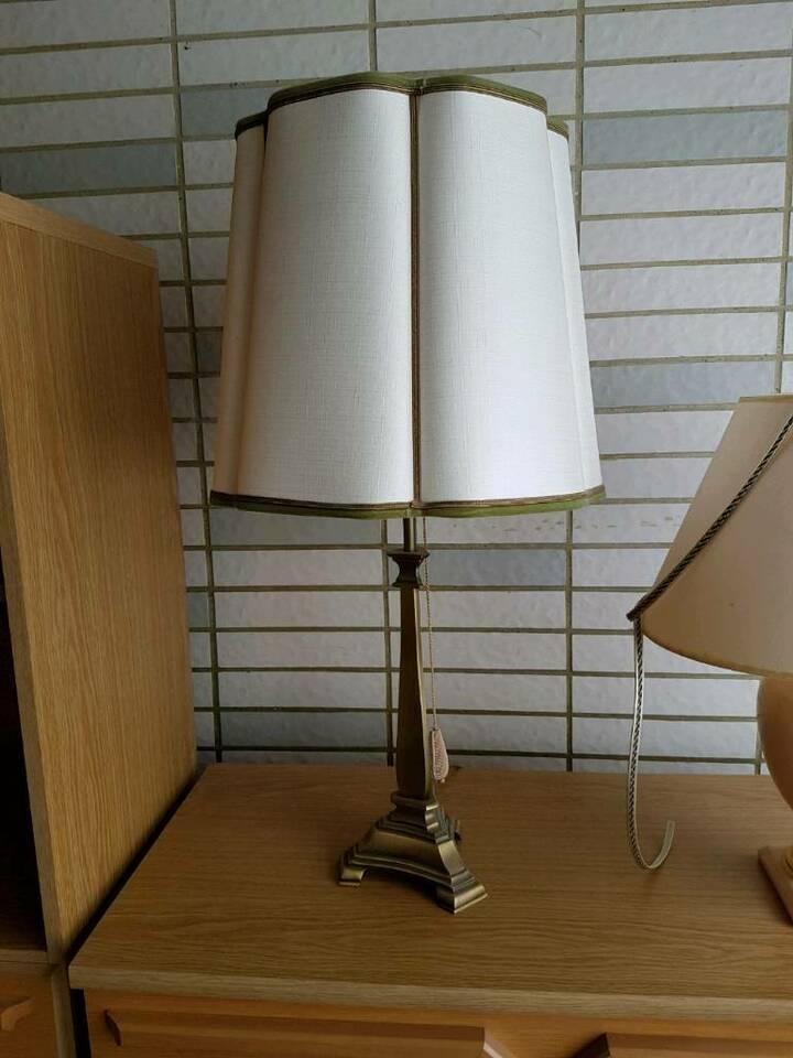 Stehlampe Klein Holz