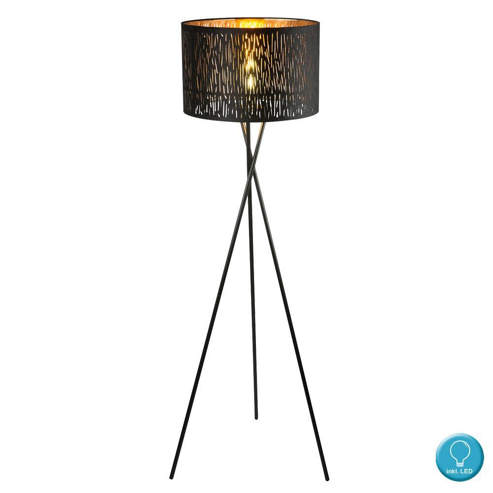Stehlampe Led Schwarz