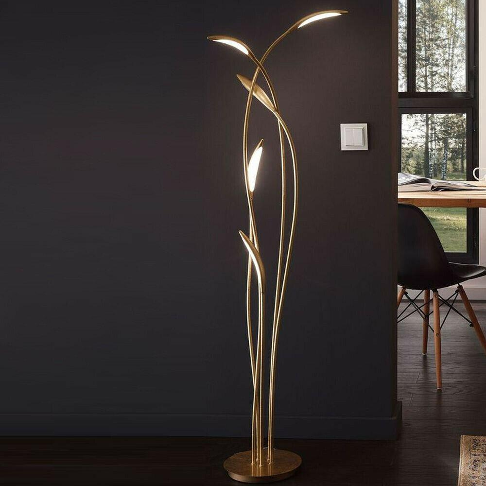 Stehlampe Messing Modern