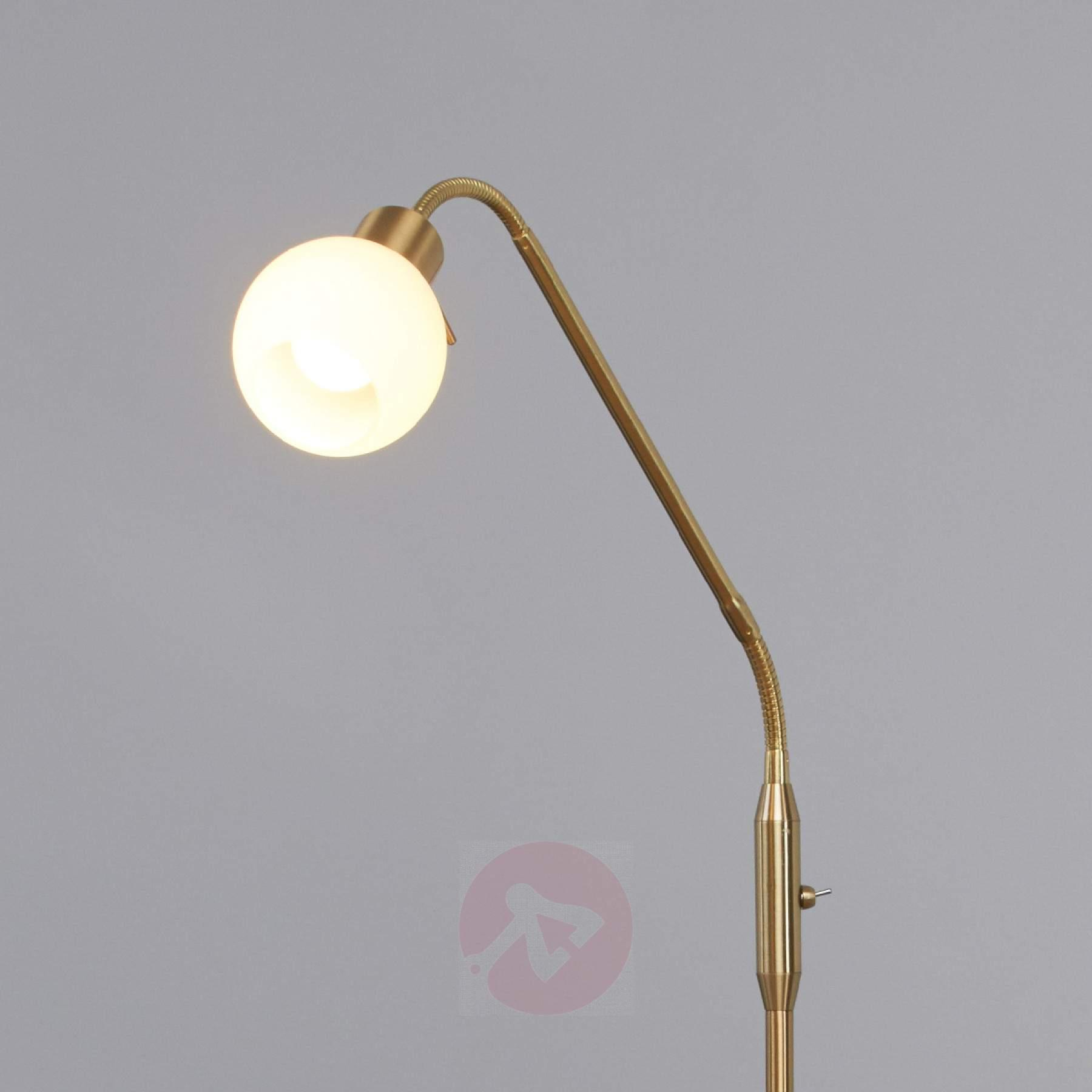 Stehlampe Messing Vintage