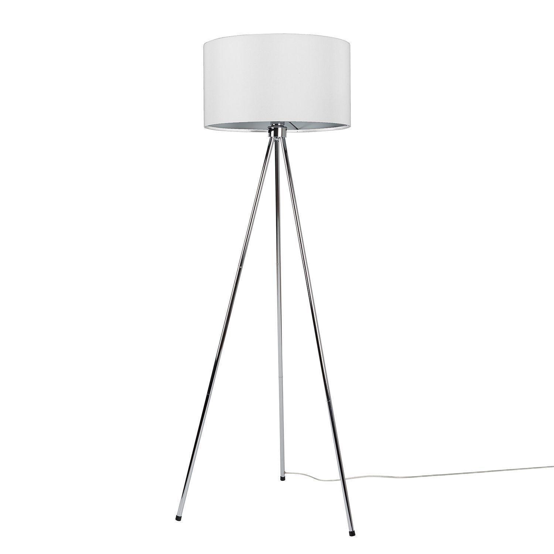 Stehlampe Modern Silber