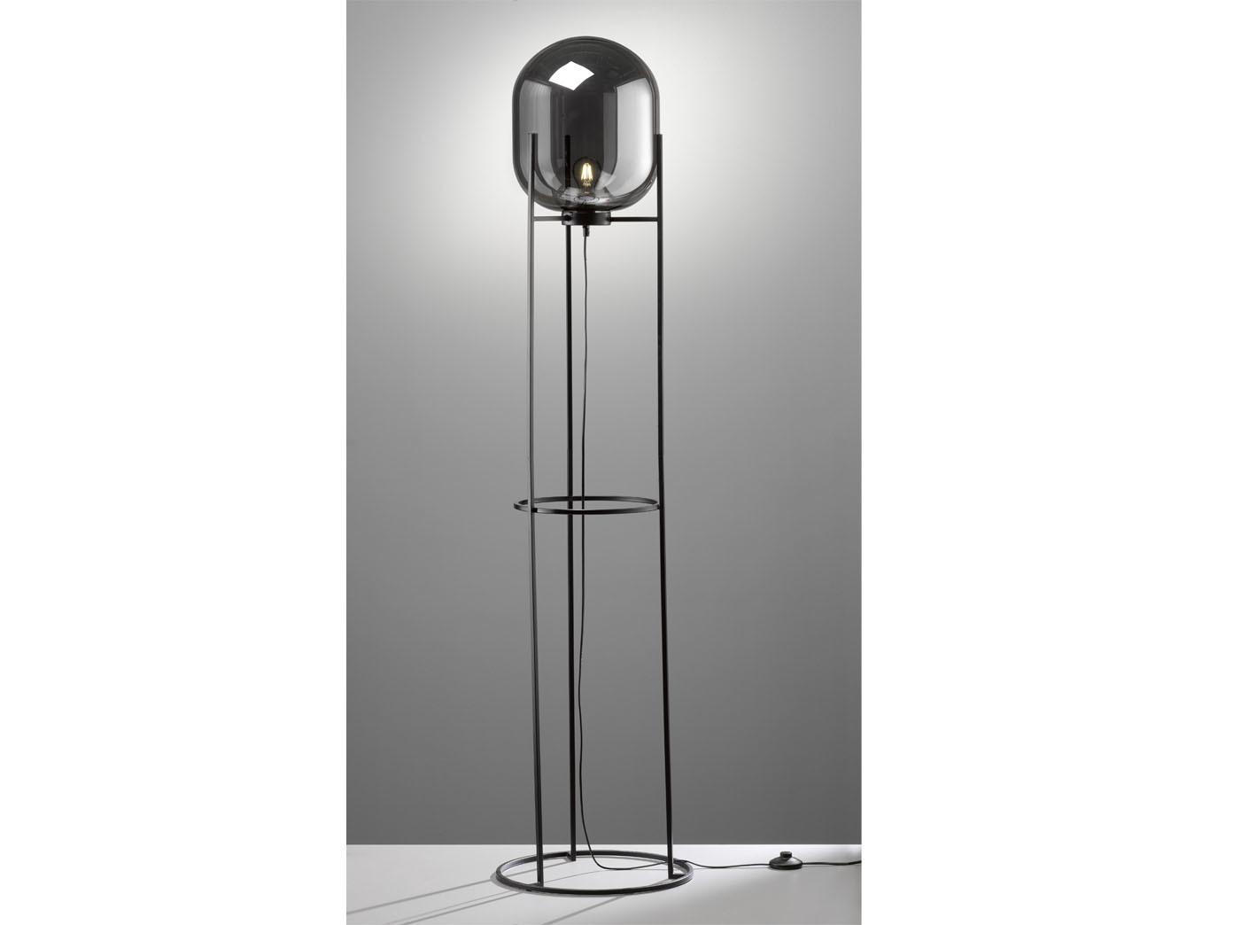 Stehlampe Retro Schwarz